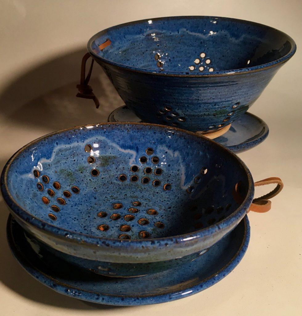 sally cobb colander-berry bowl